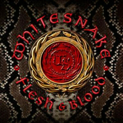 WHITESNAKE Flesh And Blood DOUBLE LP VINYL 13 Track Double Album, Limited Edit