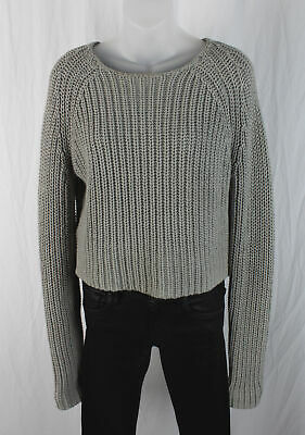 d1cdb4422f88 ALEXANDER WANG X H and M Cropped Sweater Sz XS Gray H&M - $89.99 ...
