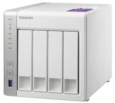 NEW QNAP TS-431P 4-bay Personal Cloud NAS with 40TB (4x10TB) WD RED NAS Drives