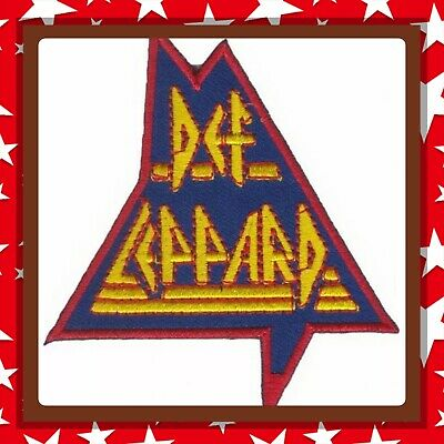 🇨🇦 Def Leppard Rock Embroidered Patch  Sew On/stick On Cloth/new 🇨🇦 #1