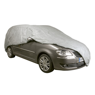 All Seasons Car Cover 3-Layer - Extra Extra Large | SEALEY SCCXXL