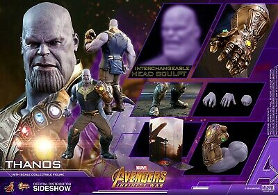 HOT TOYS MARVEL AVENGERS: INFINITY WAR THANOS 1:6 FIGURE ~Sealed in Brown Box~