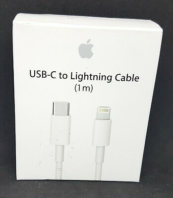 Genuine Apple USB-C to Lightning Cable 1m/3ft MK0X2AM/A A1656 OEM Thunderbolt 3