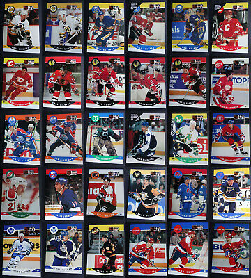 1990-91 Pro Set Hockey Cards Complete Your Set Pick From List 406-556