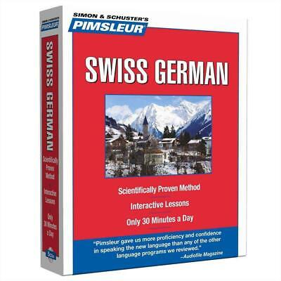 Swiss German: Learn to Speak and Understand Swiss German with Pimsleur Language