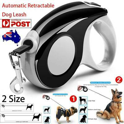 3M/5M Heavy Duty Pet Dog Automatic Retractable Traction Rope Walking Lead Leash