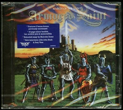 Armored Saint March Of The Saint CD new Rock Candy Records reissue