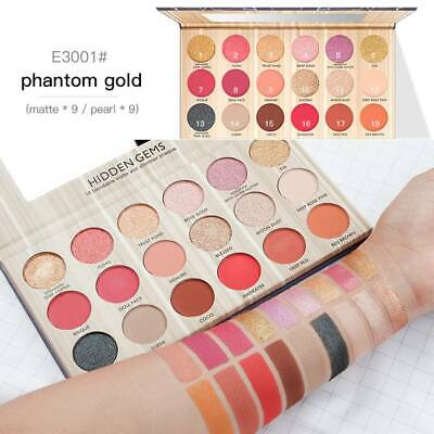18 Color Eyeshadow Palette Matte Glitter Natural Nude Waterproof Eye Shadow Gift