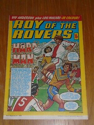 Roy Of The Rovers 12Th January 1980 Football British Weekly_
