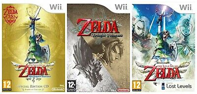 Wii - The Legend Of Zelda Series - Same Day Dispatched - VGC - *Multi Listing*