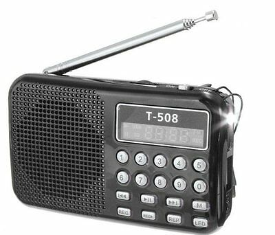 Little Black Radio preloaded with 10,000+ old time radio OTR shows Time Traveler