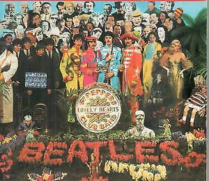 BEATLES Sgt Peppers Lonely Hearts Club Band CD 13 Track With Booklet In Outer