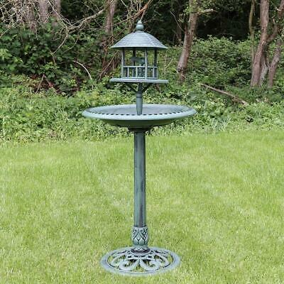 Yard, Garden & Outdoor Living Kingfisher Bronze Effect Plastic Bird Bath Uk Post Free Convenience Goods