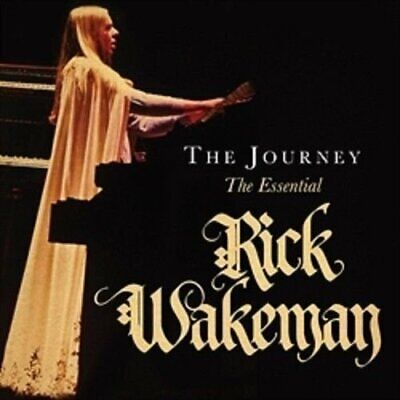 RICK WAKEMAN THE JOURNEY: ESSENTIAL 3 CD SET - Released September 29th 2017