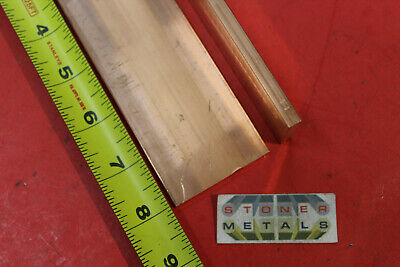 "10 Pieces 1//8/"" x 1/"" C110 COPPER BAR 14/"" long Solid Flat Mill Bus Bar Stock H02"