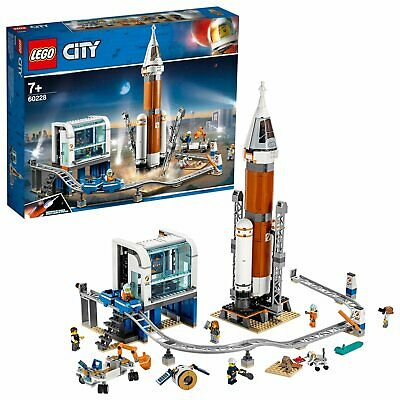 LEGO City Space Rocket and Launch Control Playset with 6 Minifigures - 60228
