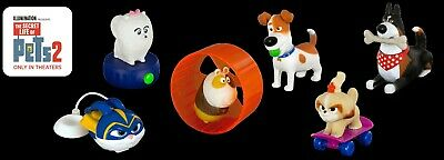 Pick Ur Favorite McDonald's 2019 Secret Life of Pets 2 Happy Meal Toys New