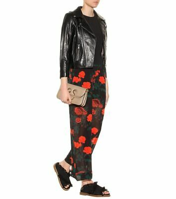 Ganni 280$ Newman Georgette floral prince see through pants size 36 S