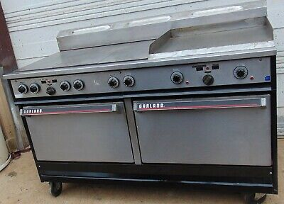 Garland Combo double Oven range griddle electric 3 phase