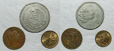 Mexico : 3 Old Coins