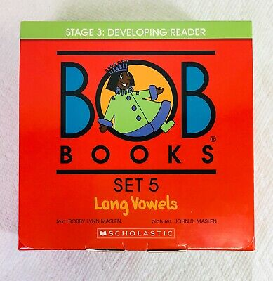 Brand New BOB BOOKS SET 5 Long Vowels Stage 3 Developing Reader