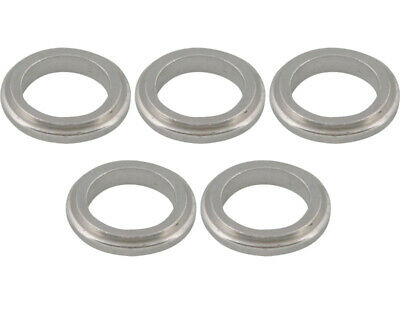 Go Kart Wheel Spacer 17 X 5mm x 5Pcs Silver Karting Race Racing