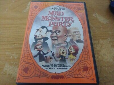 The Rankin Bass Classic Mad Monster Party Dvd Movie Film Disc Anchor Bay 1967