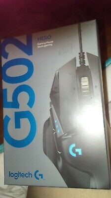 1d532548116 New Logitech G502 Hero Gaming Mouse 910-005469 Play Advanced Fast Free  Shipping