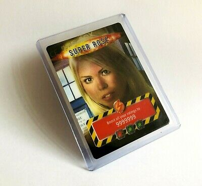 Dr Doctor Who Battles In Time 3D Super Rose Trading Card 2006 - Very Rare