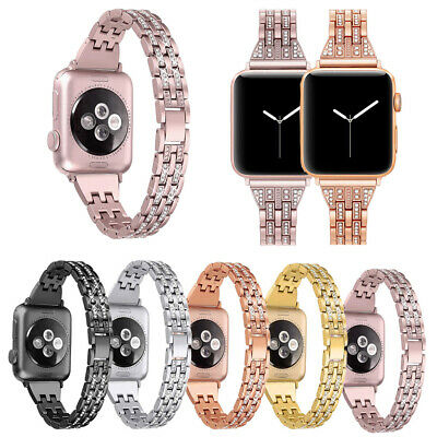 Fr Apple Watch Series 4 3 2 1 38/42MM Stainless Steel Bracelet iWatch Band Strap