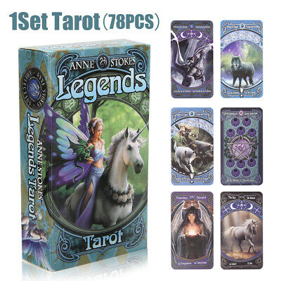 1Set Tarot Cards Anne Stokes Legend Future Telling Mystic Magic Wicca Pagan Home