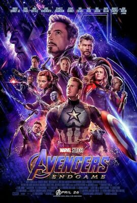 Avengers Endgame Poster One Sheet Movie Poster No Frame Us Supplier