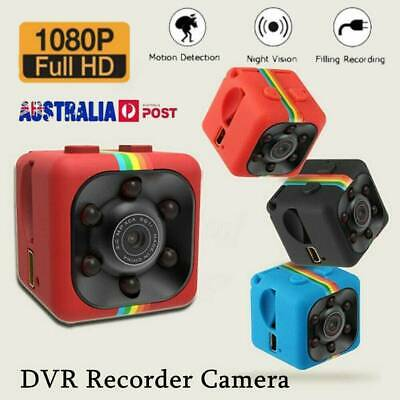 COP CAM Security Mini Camera FHD1080 Motion Detection Night Vision Recorder AU