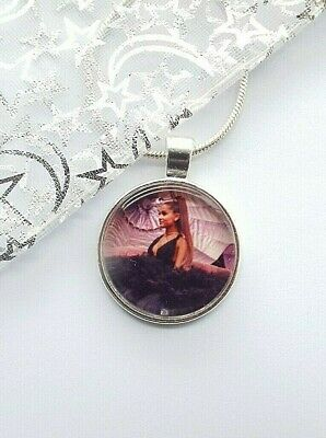Ariana  Grande  Singer  Dance Pop Music Necklace 20 Inches  Gift Boxed Birthday