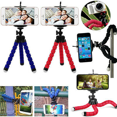 Universal Mini Mobile Phone Tripod Stand Grip Holder Mount For Camera iPhone X 8