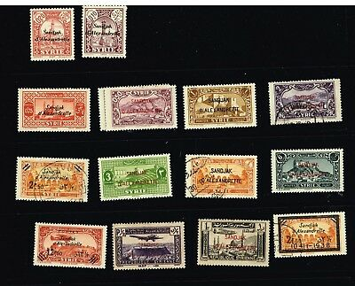 France Coloniesalexandretta F-Vf Mh And Used  (Oct29