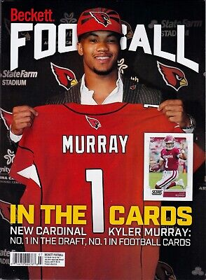 Football Beckett Price Guide Magazine July 2019 Kyler Murray