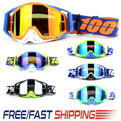 Motocross Motorcycle Glasses Off-Road Racing ATV Dirt Bike Anti-UV Ski Goggles