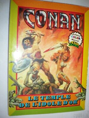 CONAN - Artima color MARVEL GEANT- Le temple de l'idole d'or - 4e trim. 1980 -