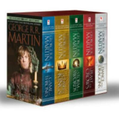 Bantam Novel Song of Ice and Fire, A - Complete Set! (Mass Market Editio Box SW