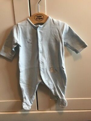 cd029109fd94 Emile Et Rose All-in One Sleepsuit New Baby 1mth Outfit Gift Baby Boys  Clothing