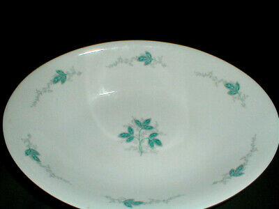 Empress Fine China Japan #506 TURQUOISE Pattern Oval Vegetable Bowl