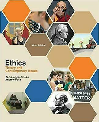 Ethics: Theory and Contemporary Issues 9th Edition(P.D.F)