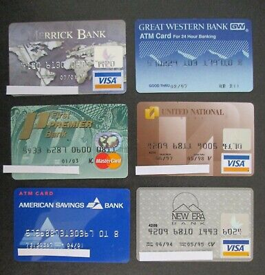 Credit, Charge Cards, Collectibles Page 7   PicClick