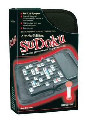 Pressman Boardgame Sudoku - Attache Edition Box NM
