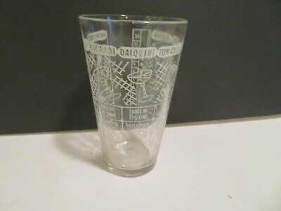 Vintage 12 Oz Barware Shaker Mix Drink Recipe Tumbler Measuring Glass