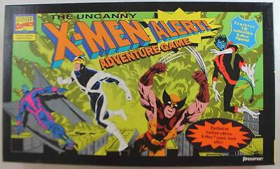 Pressman Boardgame X-Men Alert! Box EX