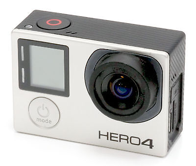 Gopro Hero 4 BLACK Edition 4K Action Camcorder With 4.35mm (24mm) f/2.8 Lens