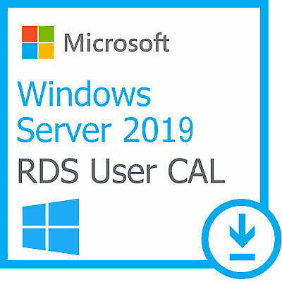 LICENSE WINDOWS SERVER 2019 RDS 50 USER / DEVICE Remote Desktop Service CALs