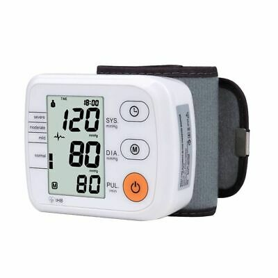 Digital Upper Arm Blood Pressure Pulse Monitor Full Automatic  Wrist Monitor